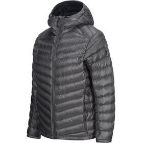Peak Performance M's Ice Down Hooded Jacket Quiet Grey
